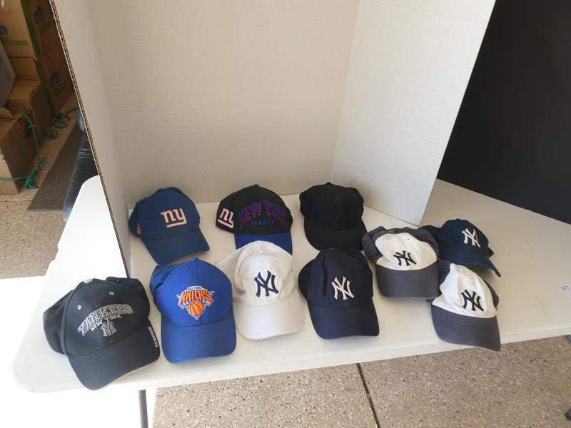 Lot # 147- Awesome New York hat collection (main image)