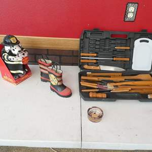 Lot # 148- Fire department specialty collector items!