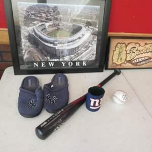 Lot # 150- Baseball collector's items!