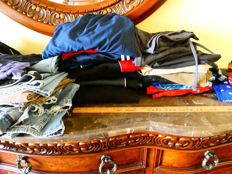 Lot # 54 -Assorted Men's clothes and Shoes (size 10) plus MORE! (main image)