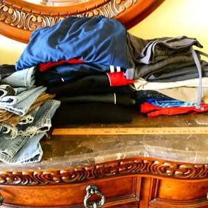 Lot # 54 -Assorted Men's clothes and Shoes (size 10) plus MORE!