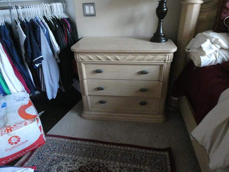Lot # 173 - Two Bernhardt XL nightstands (main image)