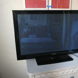 "Lot # 176 -Samsung flat screen T.V. 50"""