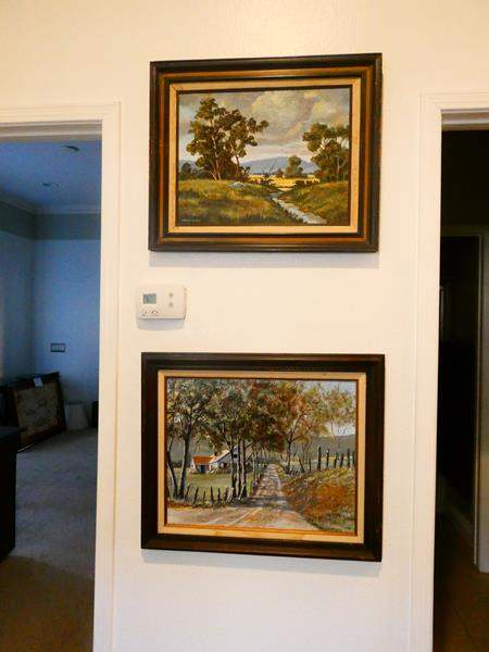 Lot # 70 - 2 Oil Paintings  (main image)