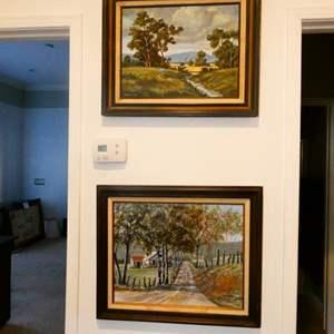 Lot # 70 - 2 Oil Paintings