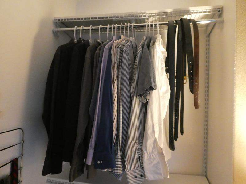 Lot # 181 - Men's  Dress shirts, ties and belts (main image)