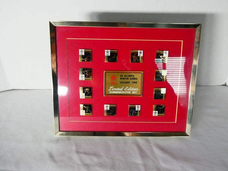 Lot # 113 1988 Olympic Games Commemorative Set! (main image)