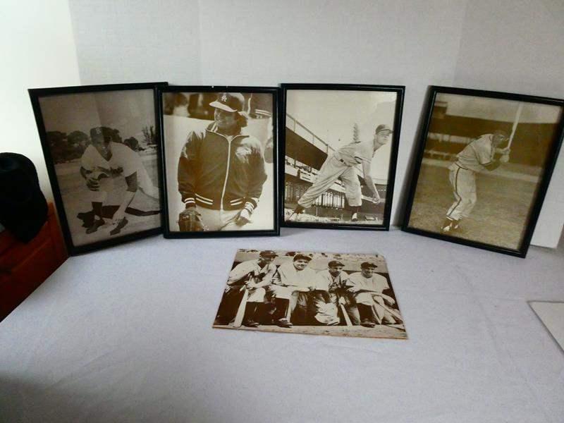Lot # 119 Seven Dodger Black and White Prints  (main image)