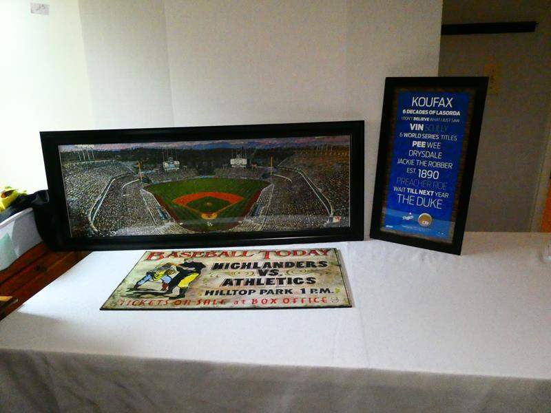 Lot # 122 Dodgers Stadium Dirt and More! (main image)