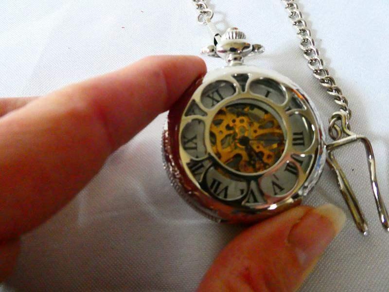 Lot # 124 Authentic Kansas City RR Pocket Watch (main image)