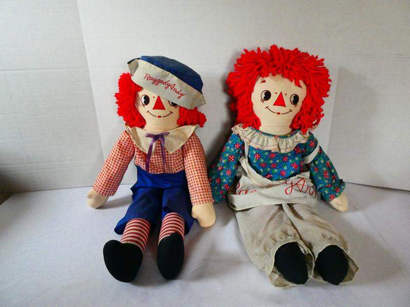 Lot # 128 Raggedy Ann and Andy! (main image)