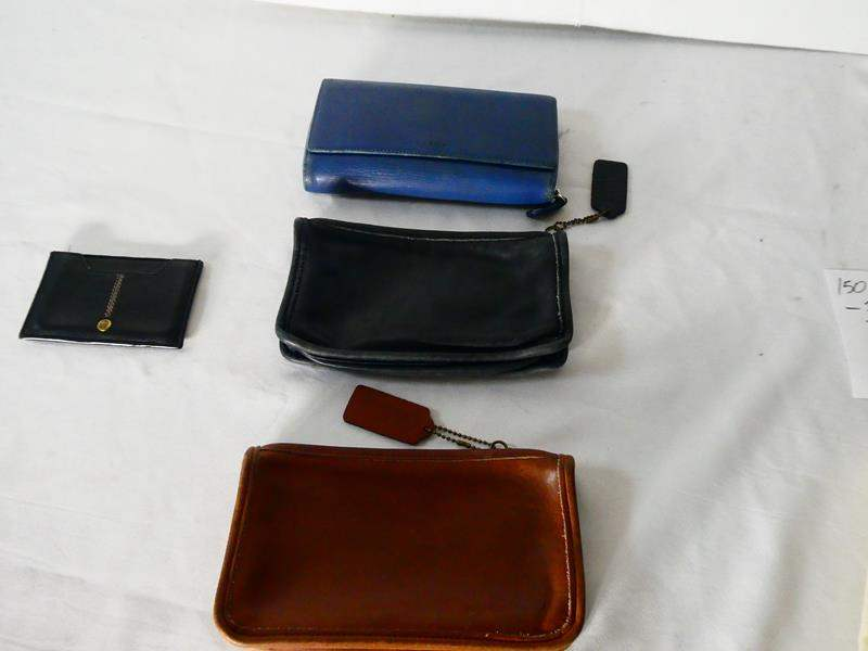 Lot # 150 COACH coin purses and More! (main image)