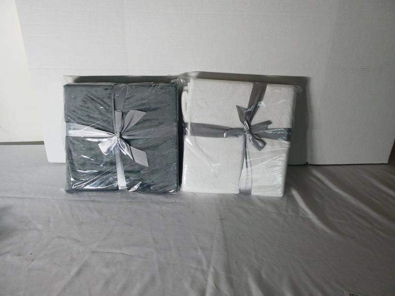 Lot # 153 2 NEW in Package Blankets (main image)
