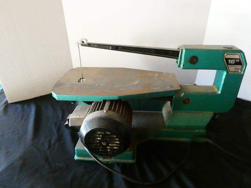 "Lot # 161- 16"" Scroll saw- tested and working great (main image)"