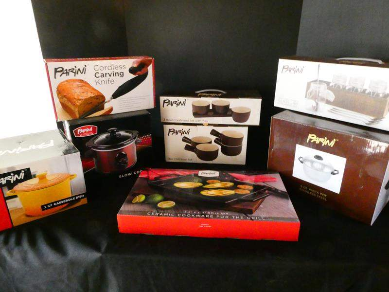 Lot # 171-Crazy Kitchen lot- Parini- new in box- see all pictures (main image)