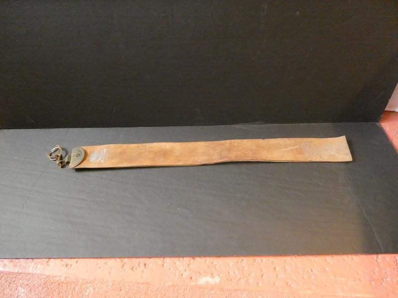 Lot # 65- Vintage Wild-Boar leather strap (main image)