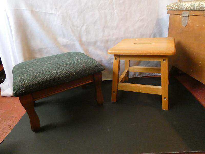 Lot # 67- Two footstools (main image)