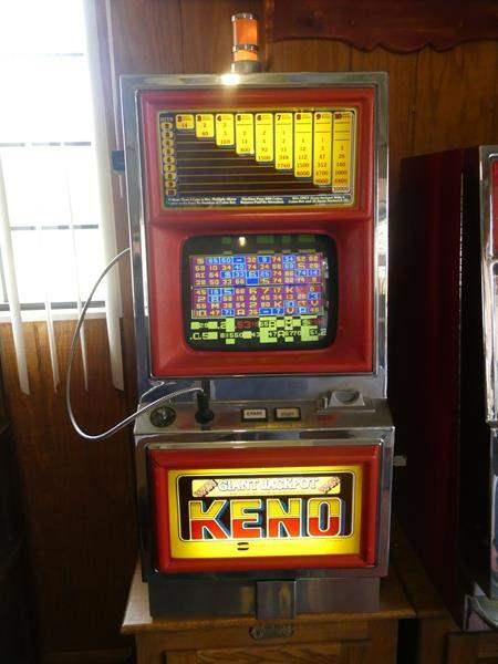 Lot # 73- Keno giant jackpot slot machine (main image)