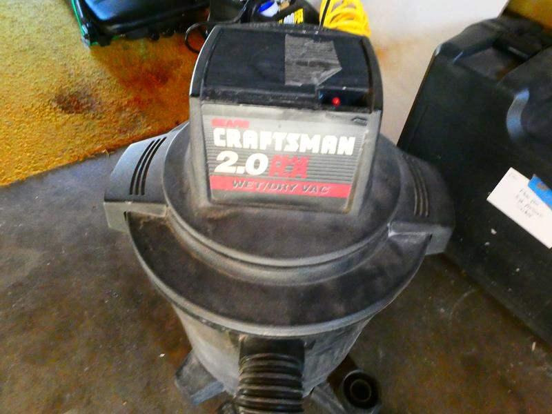 Lot # 192- Craftsman wet/dry Vac (main image)