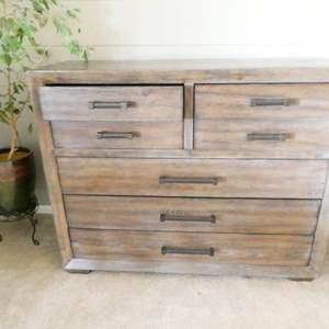 Lot # 1- Sturdy Bassett Dresser