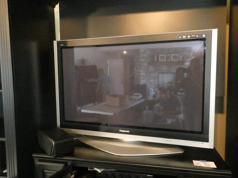 Lot # 55- 50 inch Panasonic Plasma TV & Phillips DVD Player (main image)