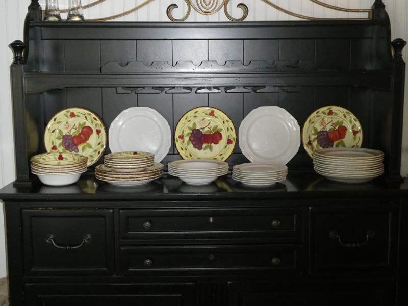Lot # 63- 2 Dish sets Mikasa and Kang (main image)