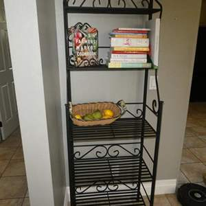 Lot # 74-Bakers Rack and More!