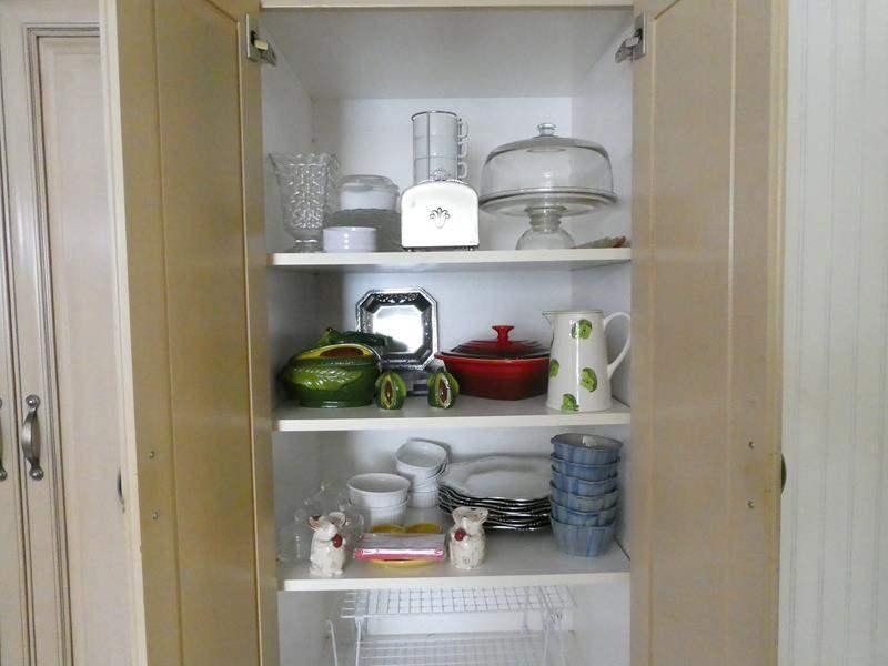 Lot # 76- 3 Shelves full of Amazing Kitchenware! (main image)