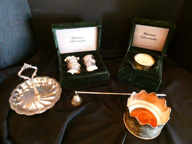 Lot # 23- Blarney silverware and more! (main image)