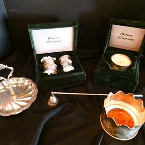 Lot # 23- Blarney silverware and more!