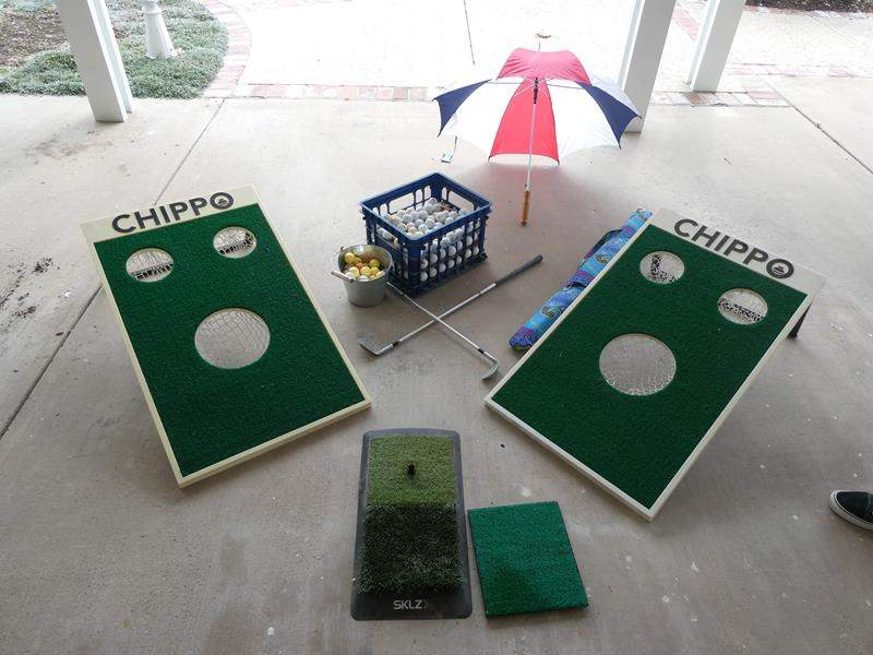 Lot # 94- Chippo Golf Set (main image)