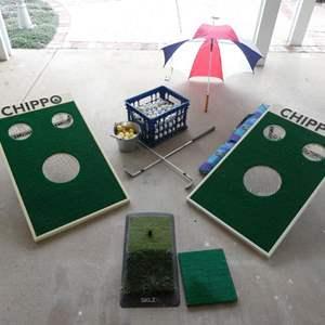 Lot # 94- Chippo Golf Set