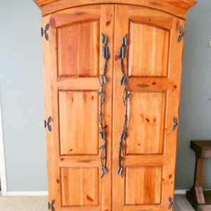 Lot # 32-Beautiful Solid Wood Armoire- Pennsylvania House