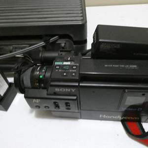 Lot # 101- SONY Video 8 Handy Cam