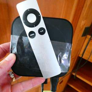 Lot # 34- Apple TV with remote