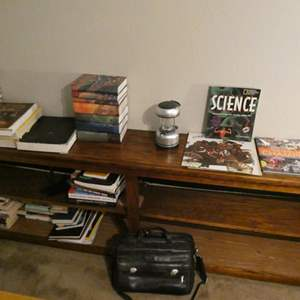 Lot # 111- Bookworm bliss! Tons of books
