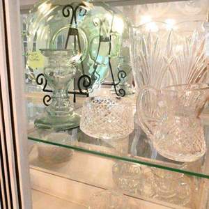 Lot # 21- Waterford crystal  plus more beautiful pieces