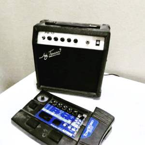 Lot # 104- Jay Turner Amp and Guitar Pedal
