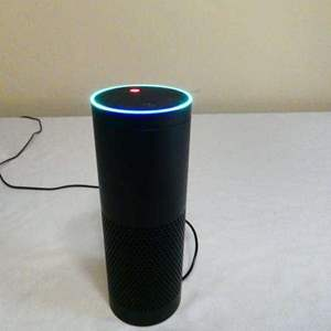"""Lot # 209- Amazon """"Alexa"""" New condition- tested- working"""