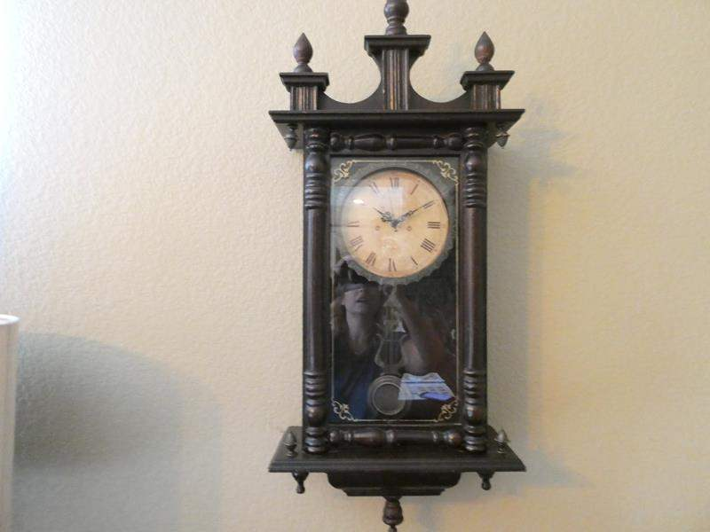 Lot # 102- Vintage wall clock (main image)