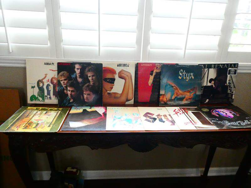 Lot # 10- Records! Styx, Gogo's and more! (main image)