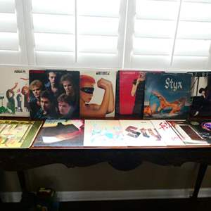 Auction Thumbnail for: Lot # 10- Records! Styx, Gogo's and more!