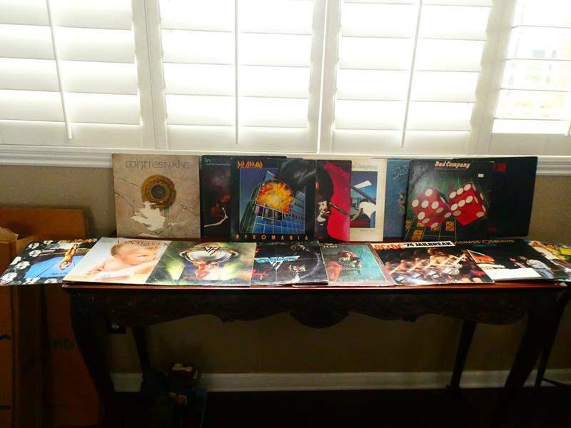 Lot # 11-More Records! Van Halen, Def Leppard, Motley Crew (main image)