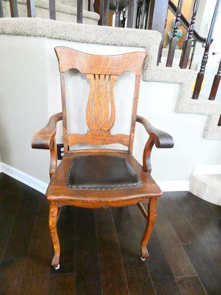 Lot # 16-Antique Chair (main image)