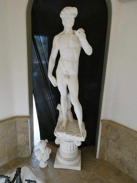 """Lot # 111- Replica of Michelangelo's """"David"""" statue (main image)"""