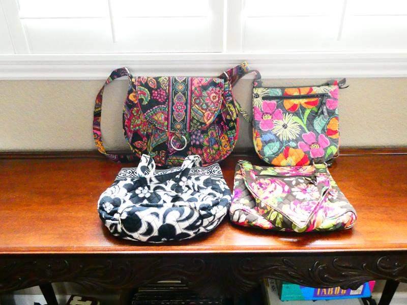 Lot # 20-Beautiful Vera Bradley fabric purses! (main image)