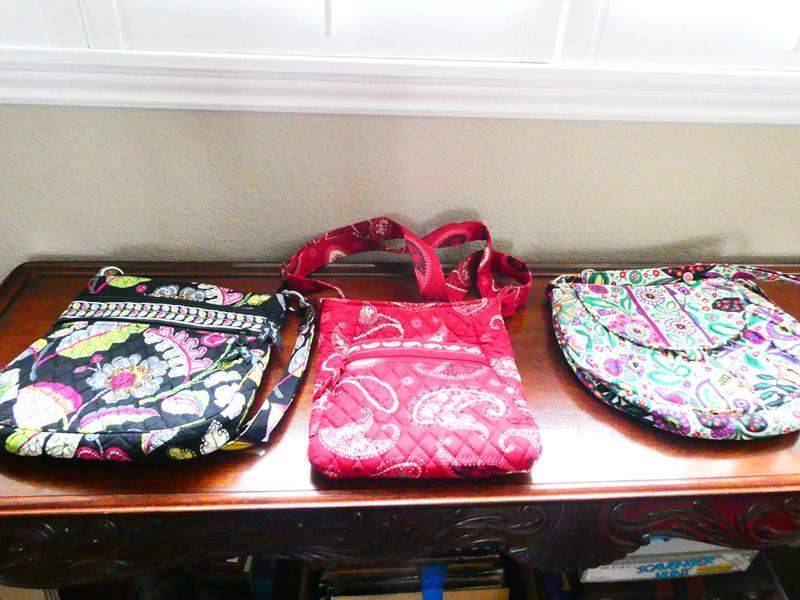 Lot # 21-More Vera Bradley fabric purses! (main image)