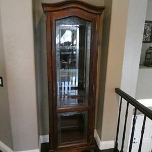 Auction Thumbnail for: Lot # 114- Vintage curio cabinet