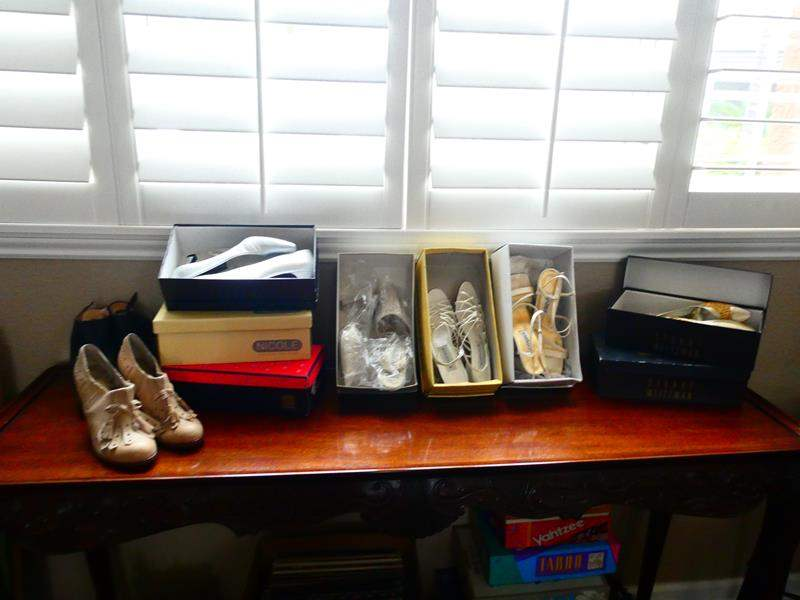 Lot # 23-Several Women's Designer Shoes sizes 7-7.5 (main image)