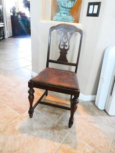 Lot # 28-Antique Chair! (main image)